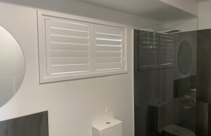 bathroom shutter in cooroy