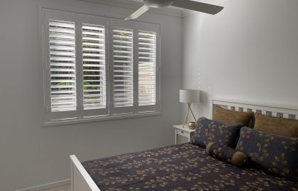 bedroom shutters in bli bli