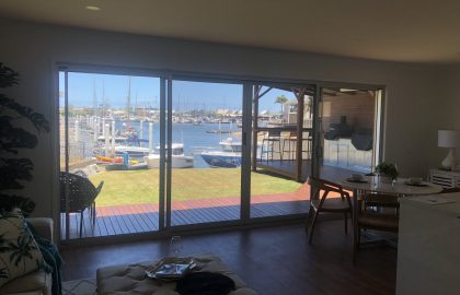double sliding secureview doors at mooloolaba
