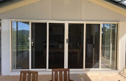 double stacking secureview security doors in Caloundra