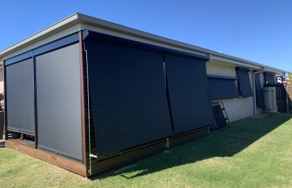 outdoor blinds and awnings in beerwah