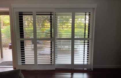 plantation shutters sliding at peachester