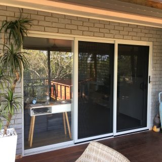 Sliding Stacker Secureview Security Doors at Buderim