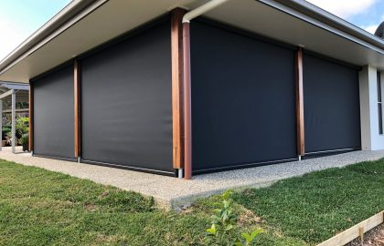 ziptrak outdoor blinds in palmview