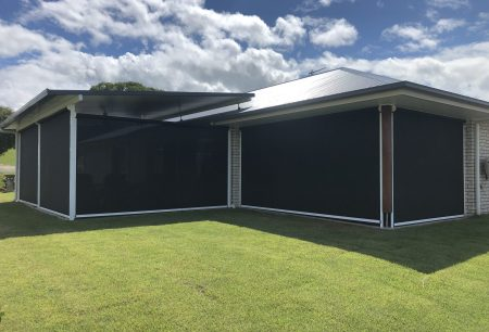 ziptrak patio awnings in yandina
