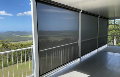 ziptrak patio blinds overlooking coolum